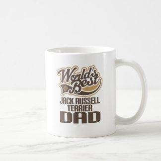 Jack Russell Terrier Dad (Worlds Best) Basic White Mug