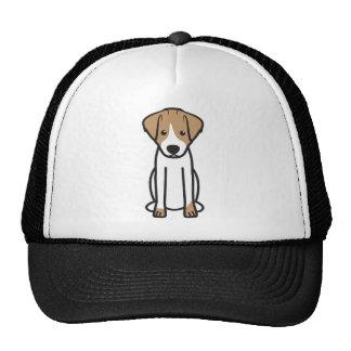Jack Russell Terrier Dog Cartoon Cap