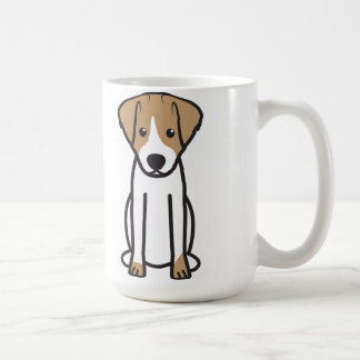 Jack Russell Terrier Dog Cartoon Coffee Mug