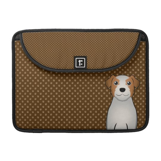 Jack Russell Terrier Dog Cartoon Paws MacBook Pro