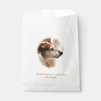 JACK RUSSELL TERRIER DOG FAVOUR BAGS