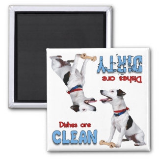 Jack Russell Terrier Dog Lovers Dishwasher Magnet