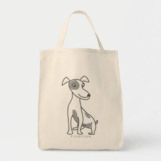 Jack Russell Terrier Grocery Tote Grocery Tote Bag