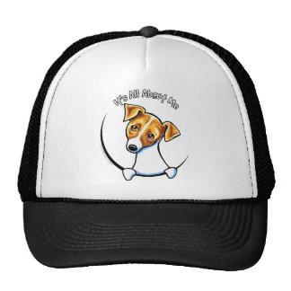 Jack Russell Terrier IAAM Off-Leash Art™ Cap