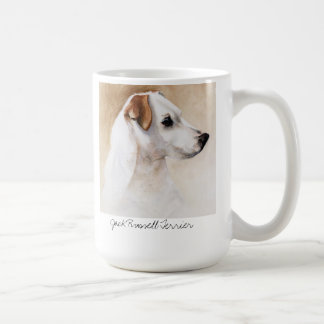 Jack Russell Terrier in Watercolour Classic White Coffee Mug