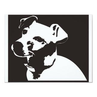 Jack Russell Terrier Custom Invites