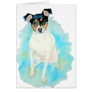 Jack Russell Terrier Jake Greeting Cards