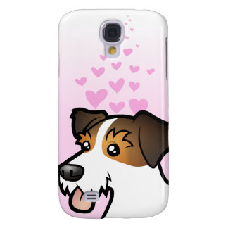 Jack Russell Terrier Love Galaxy S4 Case