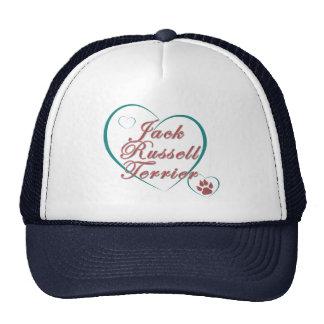 Jack Russell Terrier Love Trucker Hat