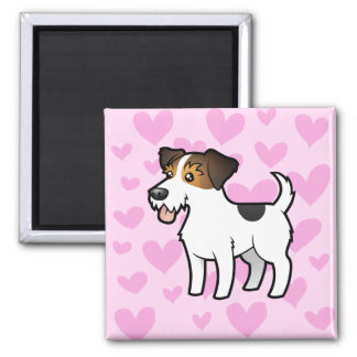 Jack Russell Terrier Love Magnet