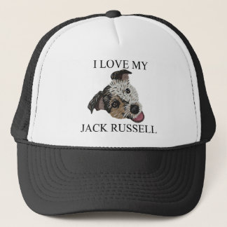 JACK RUSSELL TERRIER Love! Trucker Hat