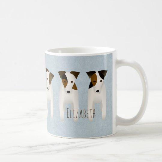 Jack Russell Terrier lovers' customised Coffee Mug