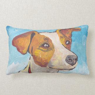 Jack Russell Terrier Lumbar Pillow