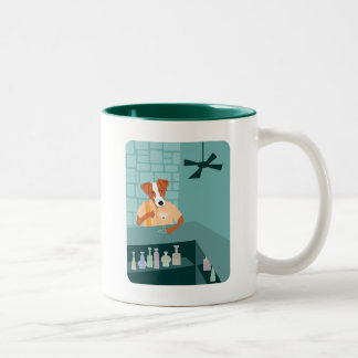 Jack Russell Terrier Martini Bar Coffee Mugs