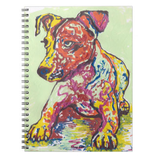 Jack Russell Terrier Notebook