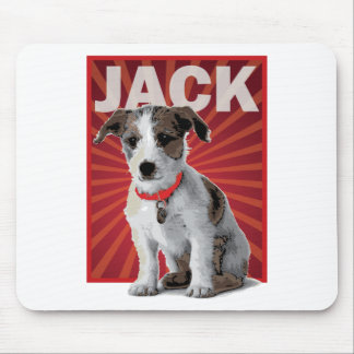 Jack Russell Terrier Pet Owner Mouse Pad