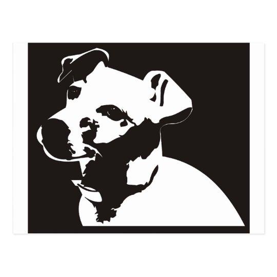 Jack Russell Terrier Postcard