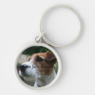 Jack Russell Terrier Premium Keychain