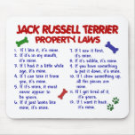 JACK RUSSELL TERRIER Property Laws 2 Mousepad