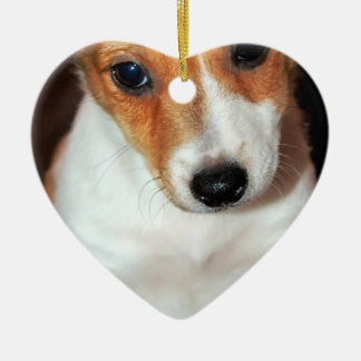 Jack Russell Terrier Puppy Dog Ornament