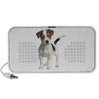 Jack Russell Terrier Puppy Laptop Speakers