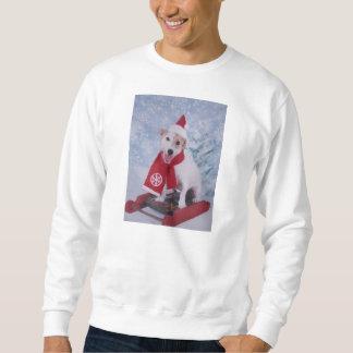 Jack Russell Terrier - Santa's Helper Sweatshirt