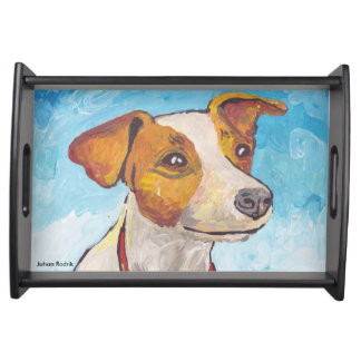 Jack Russell Terrier Serving Tray