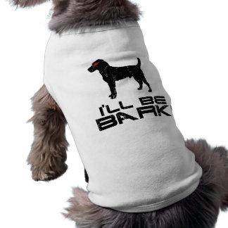 Jack Russell Terrier Sleeveless Dog Shirt