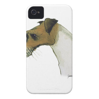 jack russell terrier, tony fernandes iPhone 4 cover