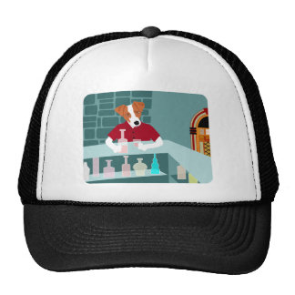 Jack Russell Terrier Whiskey Bar Cap