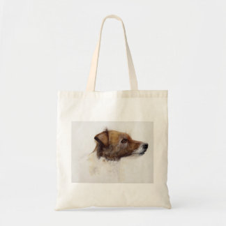Jack Russell Terriers Painted in Watercolour Tote Bag