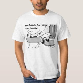 Jack Russells Don't Sleep Tshirts