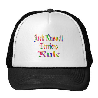 JACK RUSSELLS RULE TRUCKER HATS