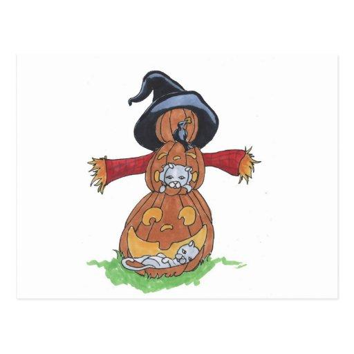 Jack Scarecrow Postcard