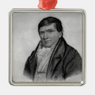 Jack Scroggins, engraved by Hopwood Christmas Ornament