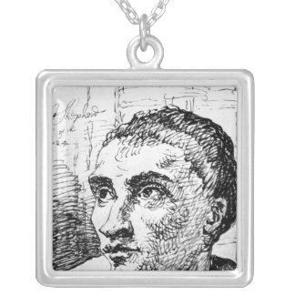 Jack Sheppard, 1724 Silver Plated Necklace