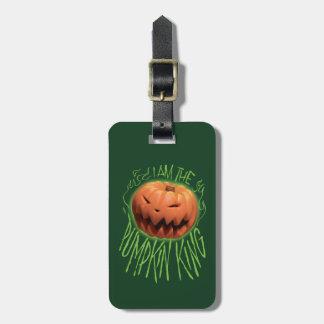 Jack Skellington | I Am The Pumpkin King Luggage Tag