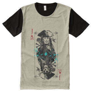 Jack Sparrow - A Wanted Man All-Over Print T-Shirt