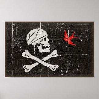 Jack Sparrow s Jolly Roger Print