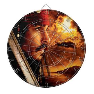Jack Sparrow Side Face Shot Dart Board