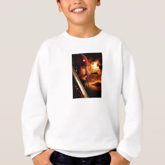 Jack Sparrow Side Face Shot Sweatshirt