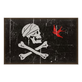 Jack Sparrow's Jolly Roger Poster