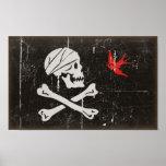 Jack Sparrow's Jolly Roger Print