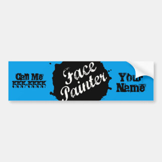 Jack Splat Blue Bumper Sticker