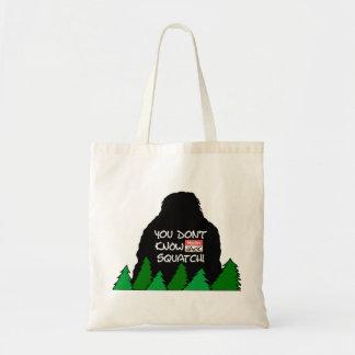 Jack Squatch Budget Tote Bag