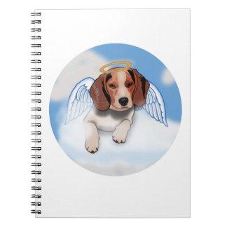 Jack the beagle notebook