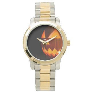 JACK THE LANTERN (Halloween pumpkin) ~ Wristwatches