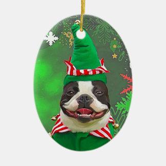 jack the xmas elf christmas ornament