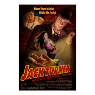 Jack Turner and the Reluctant Vampire Poster