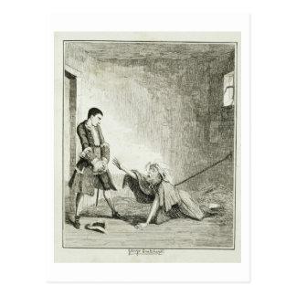 Jack visits his mother in Bethlehem Hospital, Lond Postcard